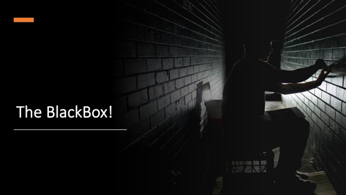 image from The BlackBox!