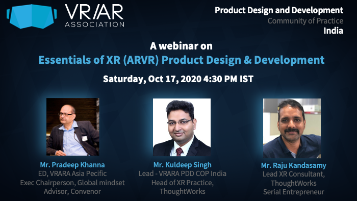 image from Webinar - Essentials of XR Product Design and Development