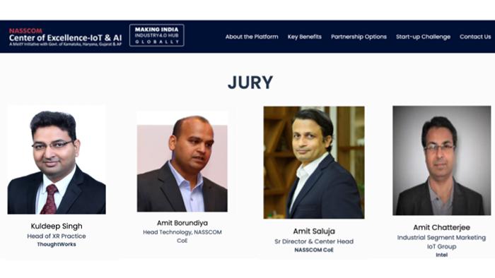 image from Juror - SMCC Startup Challenge by Nasscom