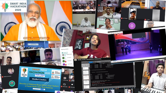 image from Judge and Mentor -  Smart India Hackathon 2020