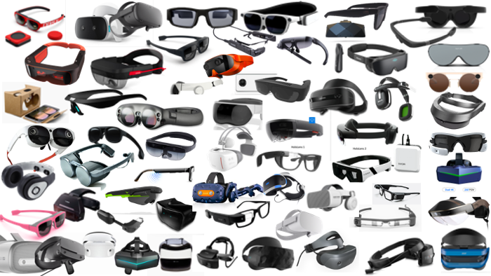 image from The Growing List of XR Devices
